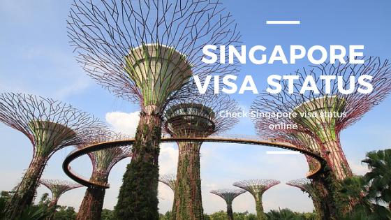 singapore visa status